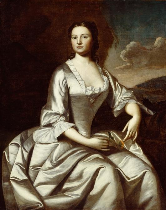Mrs. John Banister | Robert Feke | oil painting