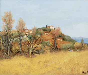 The Hill of Gaude 1975 | Marcel Dyf | oil painting