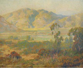 Desert Panorama | Maurice Braun | oil painting