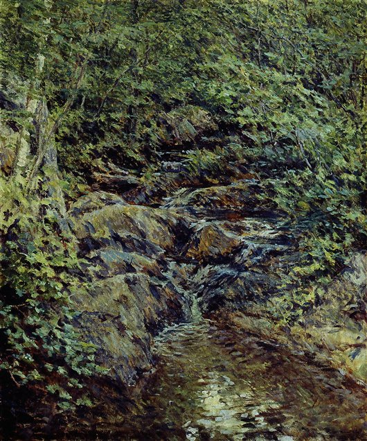 Landscape With Waterfall | Robert Reid | oil painting