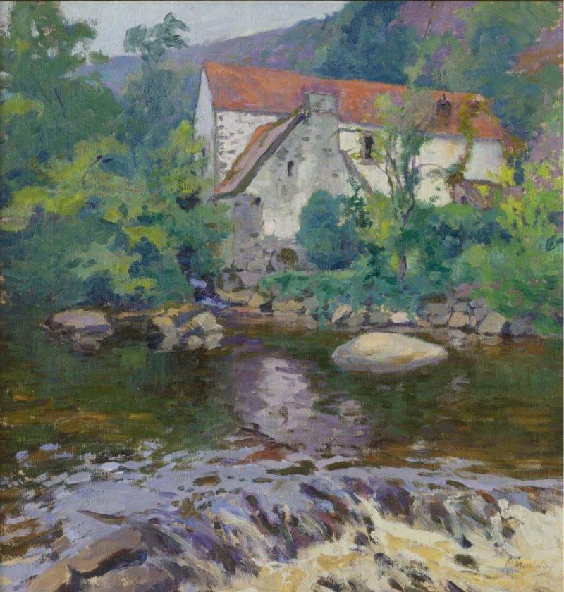 La Sedelle au Moulin Barrat | Paul Madeline | oil painting