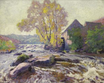 The Mill at Crozant | Paul Madeline | oil painting