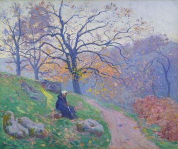 The Road in Diben 1910 | Paul Madeline | oil painting