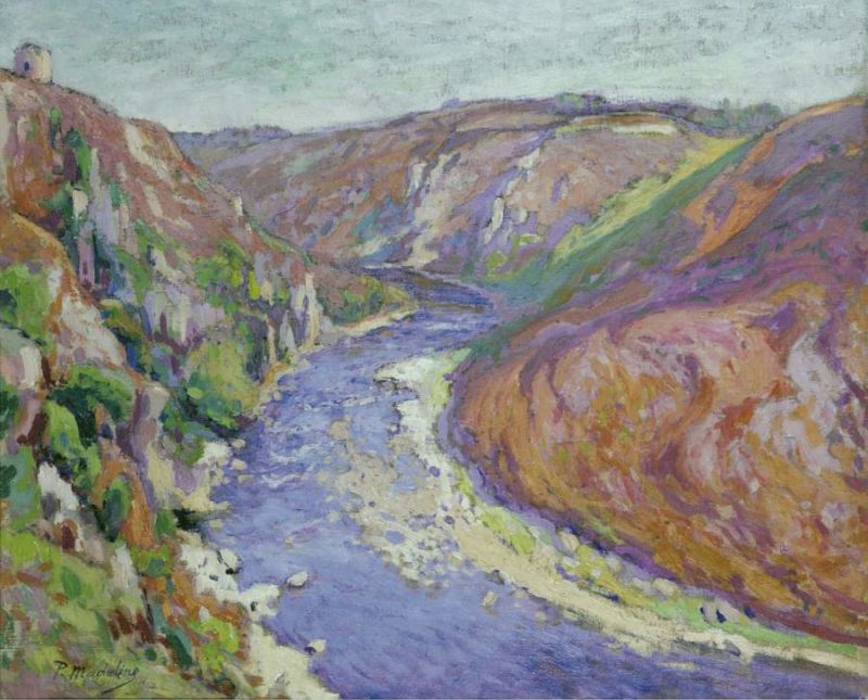 Valley 1916 | Paul Madeline | oil painting