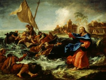 Christ At The Sea Of Galilee | Sebastiano Ricci | oil painting