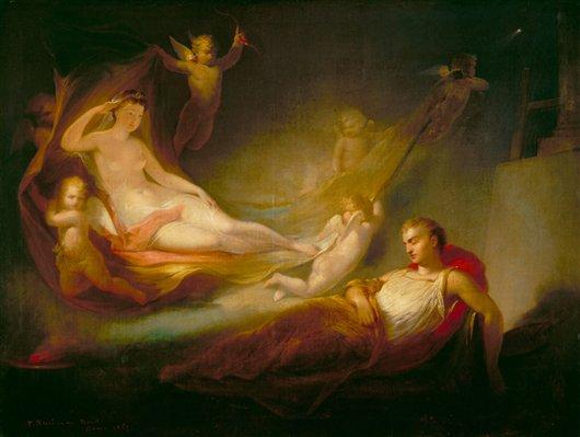 A Painter's Dream | Thomas Buchanan Read | oil painting