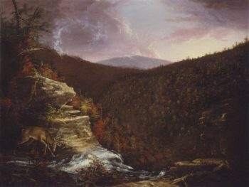 From The Top Of Kaaterskill Falls | Thomas Cole | oil painting