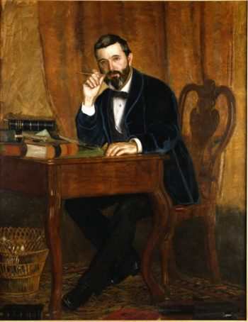 Dr. Horatio C. Wood | Thomas Cowperthwaite Eakins | oil painting