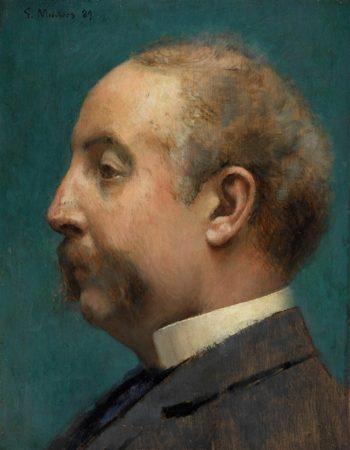 Head Of Thomas Pitts | Thomas Pollock Anshutz | oil painting