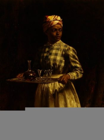 Serving Maid | Thomas Waterman Wood | oil painting