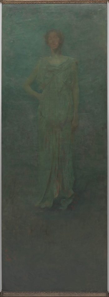 Classical Figures | Thomas Wilmer Dewing | oil painting