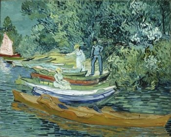 Bank Of The Oise At Auvers | Vincent Willem van Gogh | oil painting
