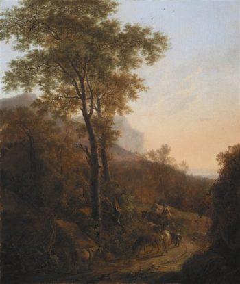 Italian Landscape | Willem de Heusch | oil painting