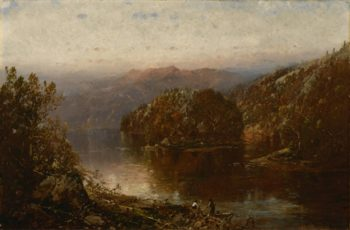 October Morning In New Hampshire | William Louis Sonntag | oil painting
