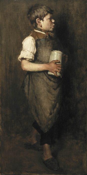 The Whistling Boy | William Merritt Chase | oil painting