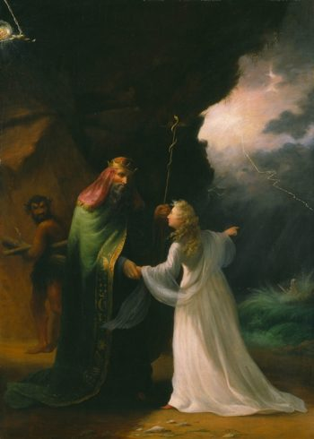 Scene From The Tempest | William S. Rimmer | oil painting