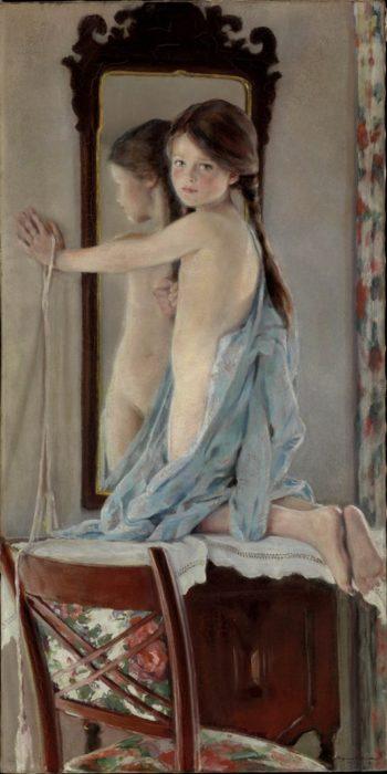 Crosslights | William Sergeant Kendall | oil painting