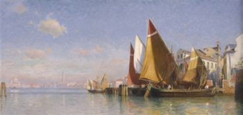 Venice I | William Stanley Haseltine | oil painting