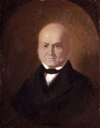 John Quincy Adams | William Trost Richards | oil painting