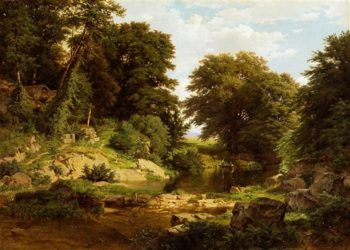 Woodland Brook | William Trost Richards | oil painting