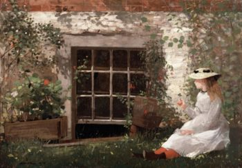The Four-Leaf Clover | Winslow Homer | oil painting