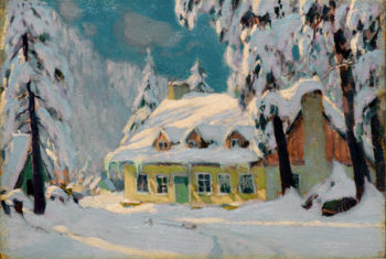 After the Storm | Clarence Gagnon | oil painting