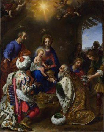 The Adoration of the Kings | Carlo Dolci | oil painting