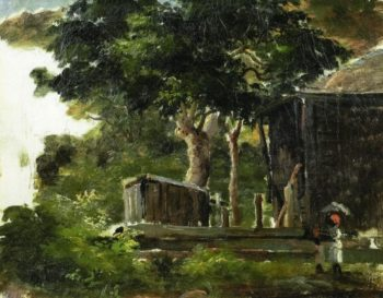 Landscape with House in the Woods in Saint Thomas