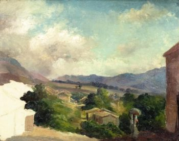 Mountain Landscape at Saint Thomas