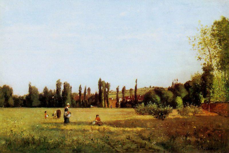 La Varenne de St. Hilaire 1863 | Camille Pissarro | oil painting