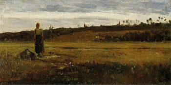 Landscape at Le Varenne Saint Hilaire 1865 | Camille Pissarro | oil painting