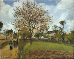 Landscape at Louveciennes 1870 | Camille Pissarro | oil painting