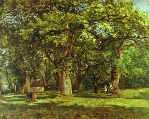 The Forest 1870 | Camille Pissarro | oil painting
