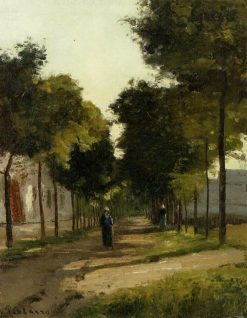 The road | Camille Pissarro | oil painting
