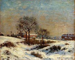 Landscape under Snow