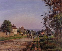 Outskirts of Louveciennes 1871 | Camille Pissarro | oil painting