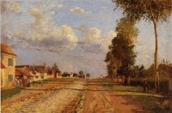 Road to Racquencourt 1871 | Camille Pissarro | oil painting