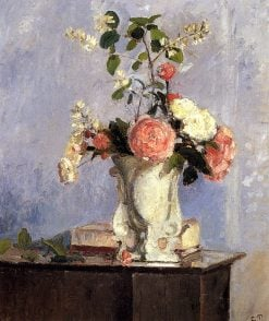 Bouquet of Flowers 1873 | Camille Pissarro | oil painting