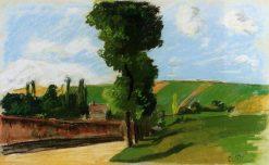 Landscape at Pontoise 2 1873 | Camille Pissarro | oil painting