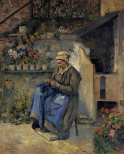 Mother Jolly 1874 | Camille Pissarro | oil painting