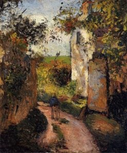 A Peasant in the Lane at Hermitage
