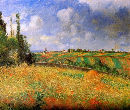 Fields | Camille Pissarro | oil painting
