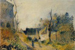 Landscape at Valhermeil 1878 | Camille Pissarro | oil painting