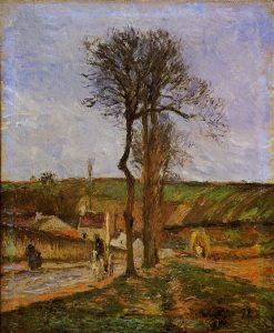 Near Pointoise 1878 | Camille Pissarro | oil painting