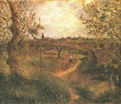 A Path Across the Fields 1879 | Camille Pissarro | oil painting