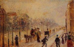 Boulevard des Batignolles 1878 - 1879 | Camille Pissarro | oil painting