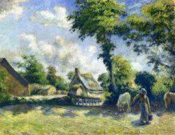 Landscape at Melleray