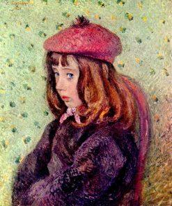 Portrait of Felix Pissarro 1881 | Camille Pissarro | oil painting