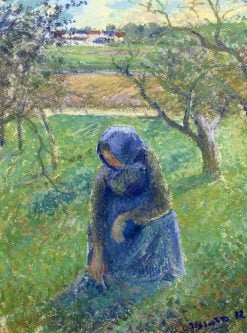 Gathering Herbs 1882 | Camille Pissarro | oil painting