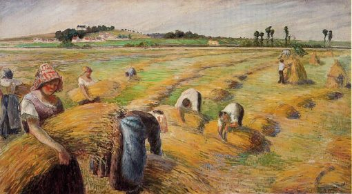 The Harvest 1882 | Camille Pissarro | oil painting